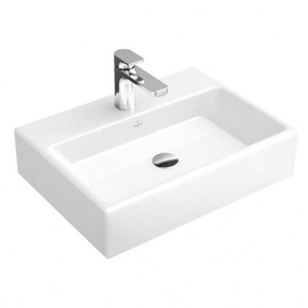 Villeroy & Boch Memento Umywalka wisząca 50x42 cm z powłoką CeramicPlus, biała Weiss Alpin 513351R1
