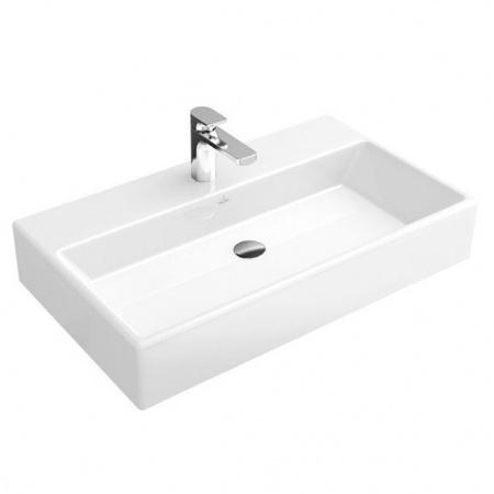 Villeroy & Boch Memento Umywalka wisząca 80x47 cm bez powłoki, biała Weiss Alpin 51338G01