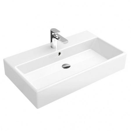 Villeroy & Boch Memento Umywalka wisząca 80x47 cm bez powłoki, biała Weiss Alpin 51338L01