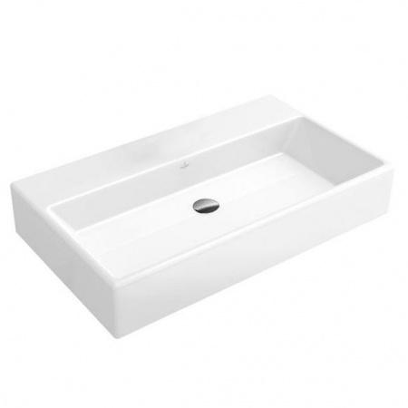 Villeroy & Boch Memento Umywalka wisząca 80x47 cm z powłoką CeramicPlus, biała Weiss Alpin 513383R1