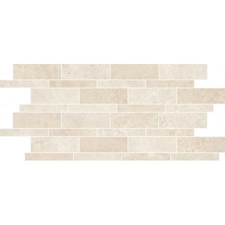 Villeroy & Boch Mineral Spring Dekor podłogowy 30x60 cm rektyfikowany Vilbostoneplus, biało-beżowy nature white-beige 2090MI05