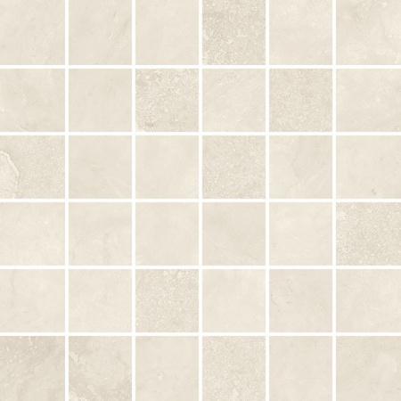 Villeroy & Boch Mineral Spring Mozaika podłogowa 5x5 cm rektyfikowana, biała nature white 2706MI00