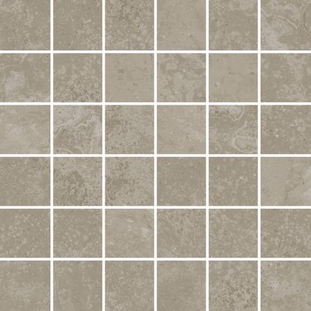 Villeroy & Boch Mineral Spring Mozaika podłogowa 5x5 cm rektyfikowana, szarobeżowa greige 2706MI70