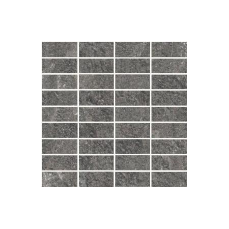 Villeroy & Boch My Earth Mozaika podłogowa 3,3x7,5 cm rektyfikowana Vilbostoneplus, antracytowy multikolor anthracite multicolour 2649RU90