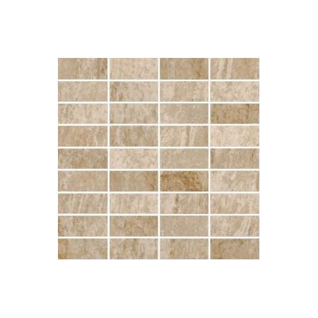 Villeroy & Boch My Earth Mozaika podłogowa 3,3x7,5 cm rektyfikowana Vilbostoneplus, beżowy multikolor beige multicolour 2649RU20