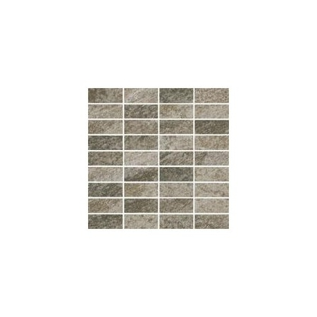 Villeroy & Boch My Earth Mozaika podłogowa 3,3x7,5 cm rektyfikowana Vilbostoneplus, szara grey multicolour 2649RU60