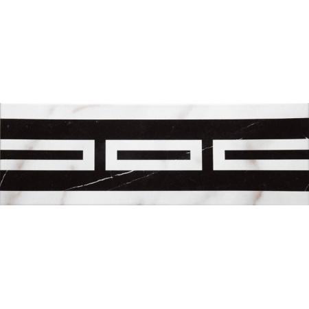 Villeroy & Boch New Tradition Bordiura 10x30 cm, biało-czarna bianco-nero 1771ML05