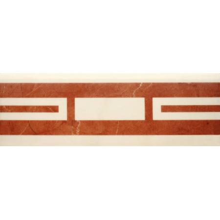 Villeroy & Boch New Tradition Bordiura 10x30 cm, kremowo-czerwona crema-rosso 1771ML34