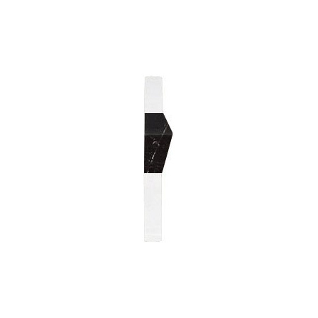 Villeroy & Boch New Tradition Bordiura 2x10 cm, biało-czarna bianco-nero 1421ML08