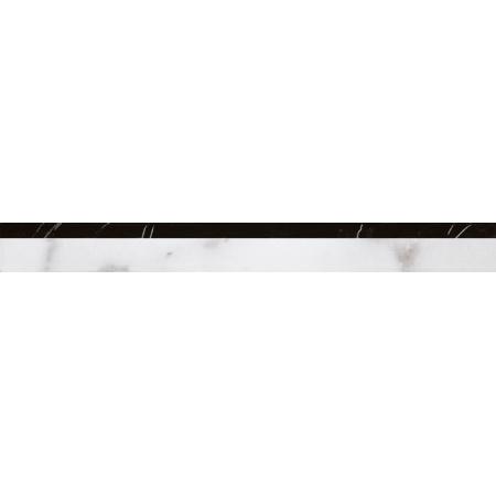 Villeroy & Boch New Tradition Bordiura 3x30 cm, biało-czarna bianco-nero 1770ML03