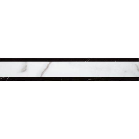 Villeroy & Boch New Tradition Bordiura 5x30 cm, biało-czarna bianco-nero 1769ML01