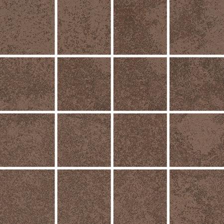 Villeroy & Boch Newtown Mozaika podłogowa 7,5x7,5 cm rektyfikowana, brązowa brown 2013LE80