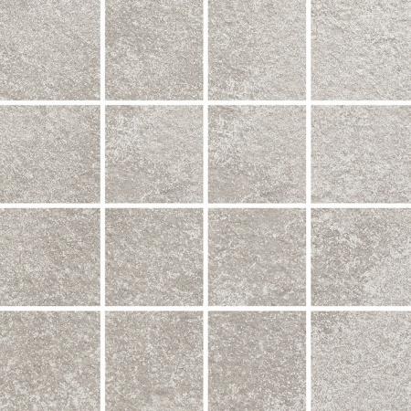 Villeroy & Boch Newtown Mozaika podłogowa 7,5x7,5 cm rektyfikowana, jasnoszara light grey 2013LE10