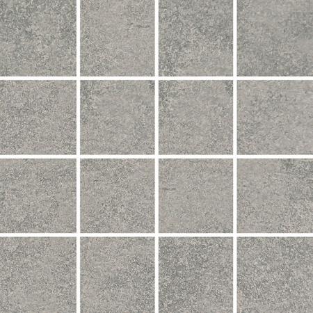 Villeroy & Boch Newtown Mozaika podłogowa 7,5x7,5 cm rektyfikowana, średnioszara medium grey 2013LE60