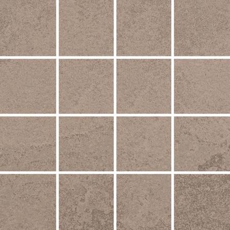 Villeroy & Boch Newtown Mozaika podłogowa 7,5x7,5 cm rektyfikowana, szarobeżowa greige 2013LE70