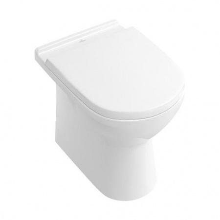 Villeroy & Boch O.Novo Toaleta WC stojąca 36x56 cm lejowa z powłoką CeramicPlus, biała Weiss Alpin 565710R1