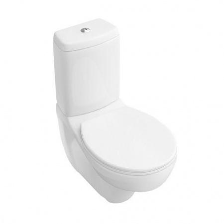Villeroy & Boch O.Novo Toaleta WC podwieszana kompaktowa 35,5x68 cm lejowa, biała Weiss Alpin 66231001