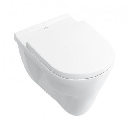 Villeroy & Boch O.Novo Toaleta WC podwieszana 56x36 cm z półką, biała Weiss Alpin 56621001