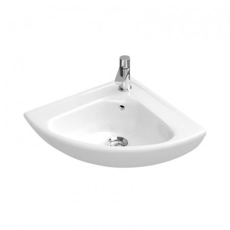 Villeroy & Boch O.Novo Umywalka mała narożna Compact , biała Weiss Alpin 73274001