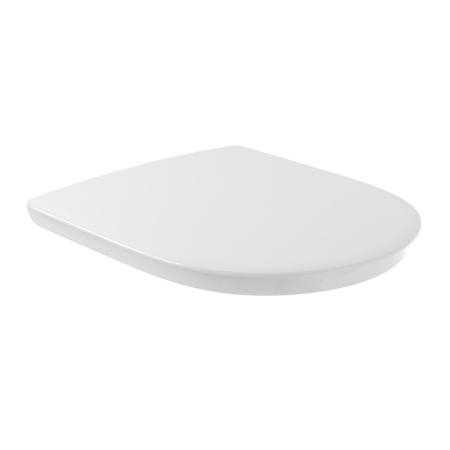 Villeroy & Boch O.Novo Vita Deska sedesowa VITA wolnoopadająca z powłoką AntiBac, biała Weiss Alpin 9M67S1T1