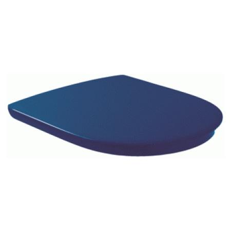 Villeroy & Boch O.Novo Vita Deska sedesowa VITA zwykła z powłoką AntiBac, niebieska Blue 9M7261P1