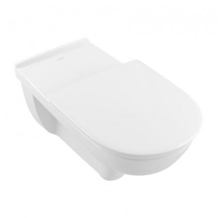 Villeroy & Boch O.Novo Vita Toaleta WC podwieszana 36x70 cm lejowa DirectFlush bez kołnierza wewnętrznego z powłoką CeramicPlus, biała Weiss Alpin 4601R0R1