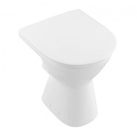 Villeroy & Boch O.Novo Vita Toaleta WC VITA stojąca 36x48 cm, lejowa, z powłoką CeramicPlus, biała Weiss Alpin 468310R1