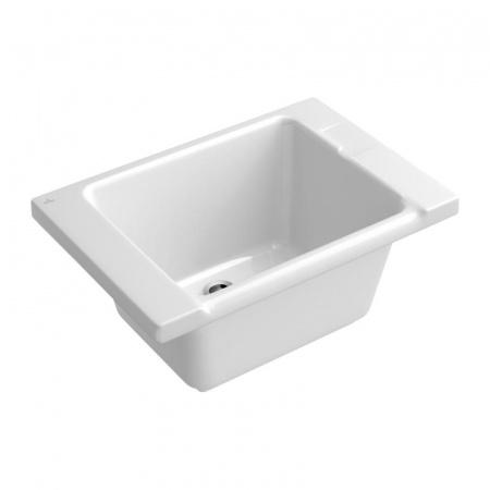 Villeroy & Boch O.Novo Wanna pralnicza 86x35,5x60,5 cm, z powłoką CeramicPlus, biała Weiss Alpin 692210R1