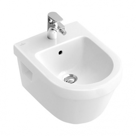 Villeroy & Boch Architectura Bidet podwieszany 37x53 cm z przelewem, biały Weiss Alpin 54840001