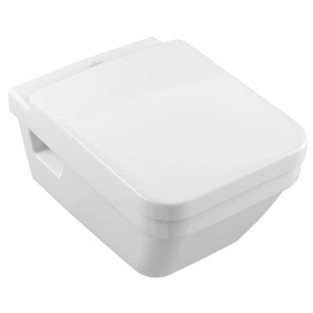 Villeroy & Boch Architectura Zestaw Combi-Pack Toaleta WC podwieszana 53x37 cm DirectFlush bez rantu z deską sedesową wolnoopadającą, biały 5685HR01