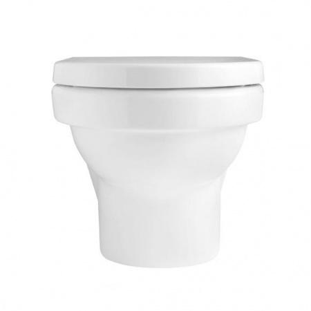 Villeroy & Boch Architectura Toaleta WC podwieszana 37x56 cm lejowa, z powłoką CeramicPlus, biała Weiss Alpin 567410R1