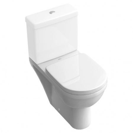 Villeroy & Boch Architectura Toaleta WC stojąca kompaktowa 37x69 cm lejowa, biała Weiss Alpin 56771001