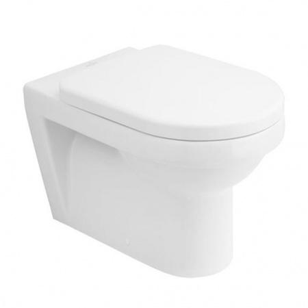 Villeroy & Boch Architectura Toaleta WC stojąca 37x56 cm lejowa, z powłoką CeramicPlus, biała Weiss Alpin 567610R1