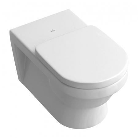 Villeroy & Boch Architectura Toaleta WC podwieszana VITA 37x71 cm lejowa, z powłoką CeramicPlus, biała Weiss Alpin 567810R1