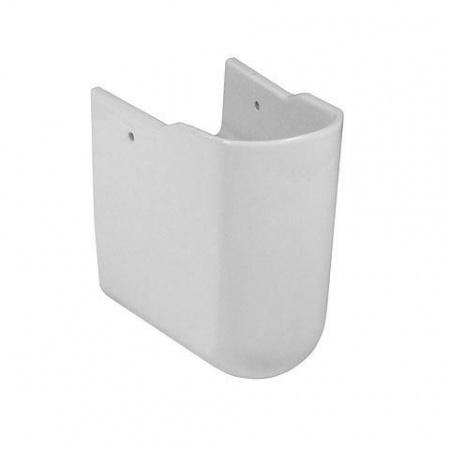 Villeroy & Boch Architectura Półpostument, z powłoką CeramicPlus, biały Weiss Alpin 726460R1