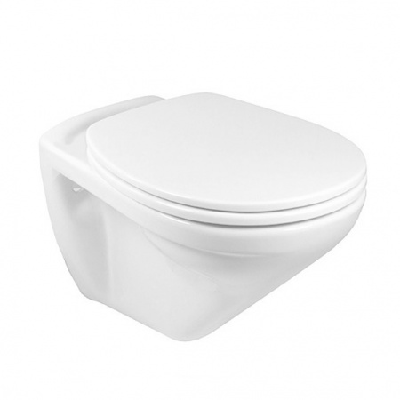Villeroy & Boch Omnia Classic Toaleta WC podwieszana 36x54 cm lejowa z powłoką CeramicPlus, biała Weiss Alpin 768210R1