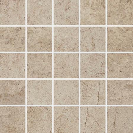 Villeroy & Boch Oregon Mozaika podłogowa 7,5x7,5 cm rektyfikowana Vilbostoneplus, beżowa beige 2028ST20