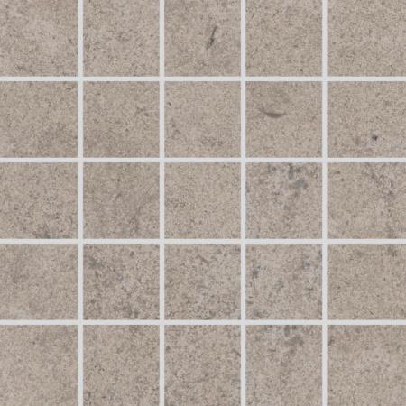 Villeroy & Boch Oregon Mozaika podłogowa 7,5x7,5 cm rektyfikowana Vilbostoneplus, szarobeżowa greige 2028ST70