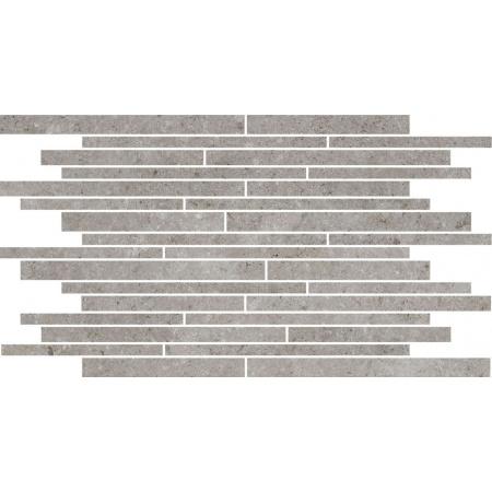 Villeroy & Boch Outstanding Dekor podłogowy 30x50 cm rektyfikowany Vilbostoneplus, szary grey 2650TZ60