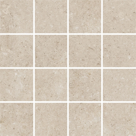 Villeroy & Boch Outstanding Mozaika podłogowa 7,5x7,5 cm rektyfikowana Vilbostoneplus, kremowa creme 2625TZ10