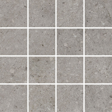 Villeroy & Boch Outstanding Mozaika podłogowa 7,5x7,5 cm rektyfikowana Vilbostoneplus, szara grey 2625TZ60