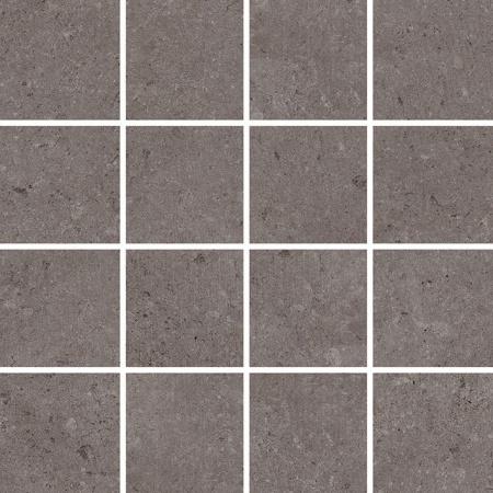 Villeroy & Boch Outstanding Mozaika podłogowa 7,5x7,5 cm rektyfikowana Vilbostoneplus, szarobrązowa grey-brown 2625TZ80