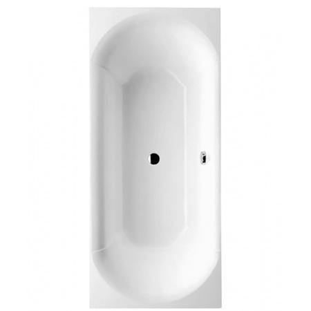 Villeroy & Boch Pavia Duo Wanna prostokątna 170x75 cm Quaryl biały weiss alpin UBQ170PAV2V-01