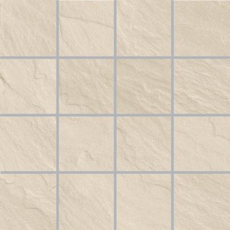 Villeroy & Boch Place Mozaika podłogowa 7,5x7,5 cm rektyfikowana Vilbostoneplus, kremowa creme 2486SL10