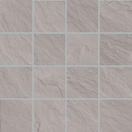 Villeroy & Boch Place Mozaika podłogowa 7,5x7,5 cm rektyfikowana Vilbostoneplus, szara grey 2486SL60