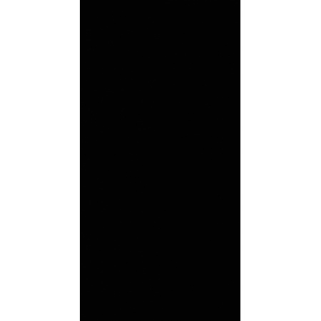 Villeroy & Boch Play It! Płytka 25x50 cm Ceramicplus, czarna black 1560PI90