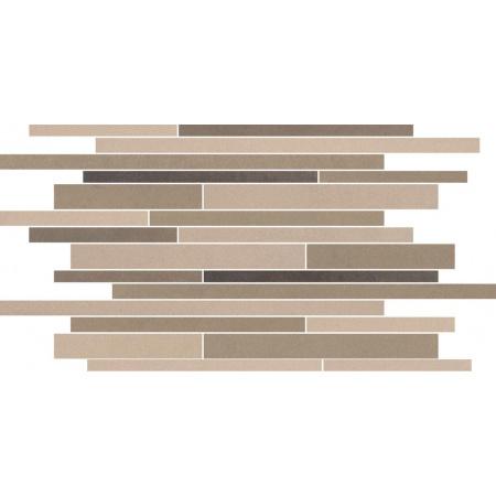 Villeroy & Boch Pure Line Dekor podłogowy 30x50 cm rektyfikowany Vilbostoneplus, brązowy multikolor brown multicolor 2688PL82