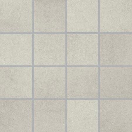Villeroy & Boch Pure Line Mozaika podłogowa 7,5x7,5 cm rektyfikowana Vilbostoneplus, białoszara white-grey 2699PL06