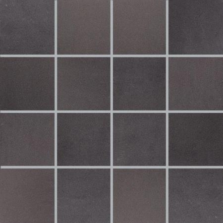 Villeroy & Boch Pure Line Mozaika podłogowa 7,5x7,5 cm rektyfikowana Vilbostoneplus, czarna black 2699PL91