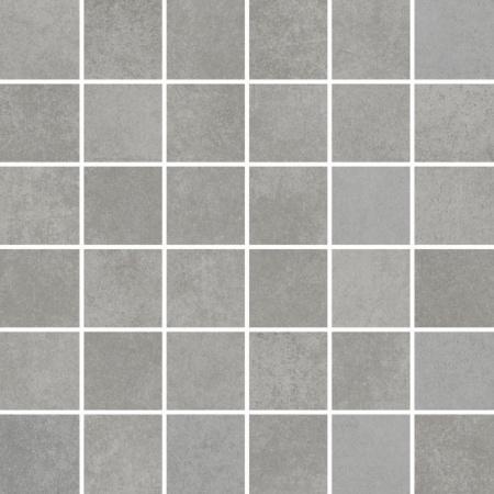 Villeroy & Boch Section Mozaika podłogowa 5x5 cm rektyfikowana Vilbostoneplus, ciemnoszara anthracite 2031SZ90
